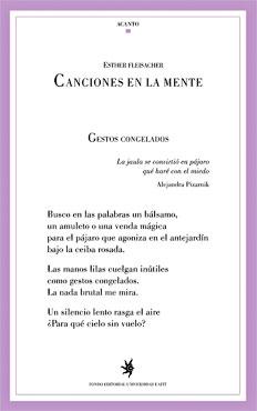 """""""Canciones en la mente"""" de Esther Fleisacher"""