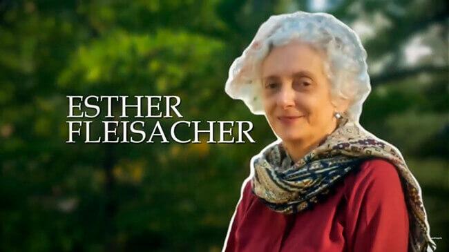 Programa «Capítulo Aparte» de Teleantioquia: Esther Fleisacher