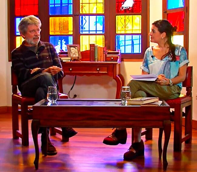 Programa «Capítulo Aparte» de Teleantioquia: Tomás González y María Isabel Abad