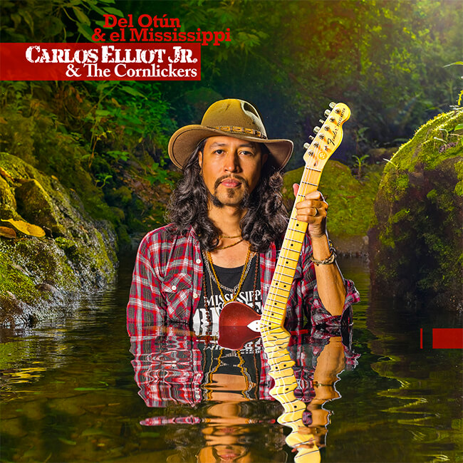 Portada del álbum «Del Otún & el Mississippi» de Carlos Elliot & The Cornlickers