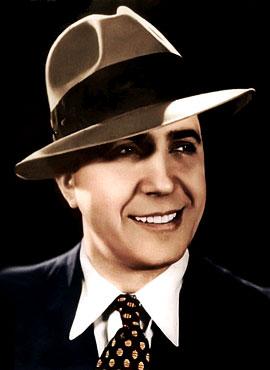 Carlos Gardel (1890 - 1935) / Fotografía por José María Silva (1933)
