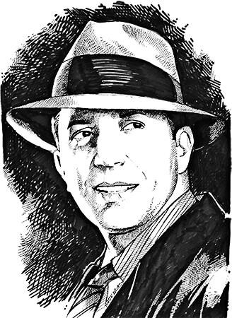 Carlos Gardel - Ilustración © Martín Arias