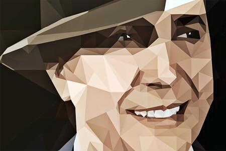 Carlos Gardel - Ilustración © Enzo A. Lima Porley