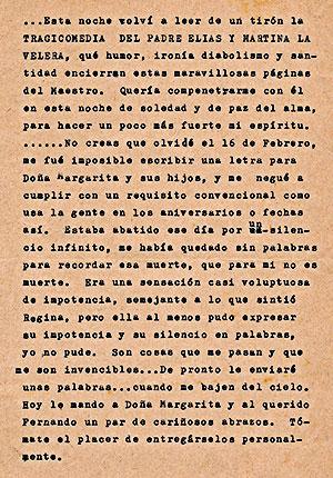 Carta de Gonzalo Arango a Rosa Girasol