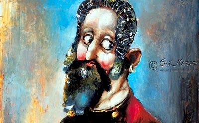 Miguel de Cervantes por Emil Kazaz