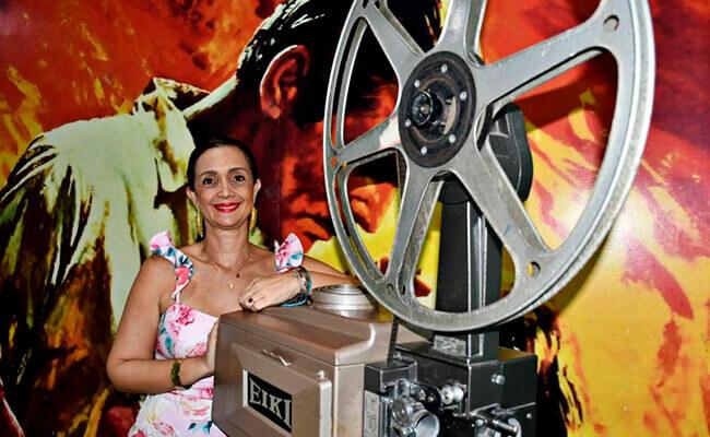 María Fernanda Morales, directora de la Cinemateca del Caribe