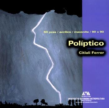 Políptico - Citlali Ferrer