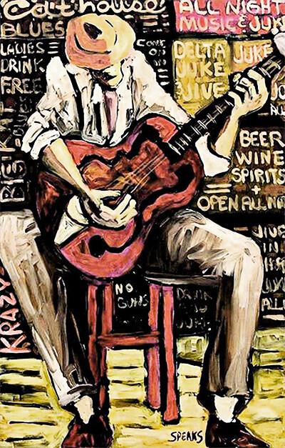 """Cathouse Blues"" por Cliff Speaks"