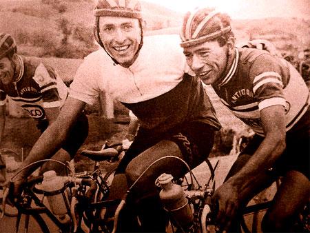"""Martín Emilio """"Cochise"""" Rodríguez y Javier """"El Ñato"""" Suárez"""