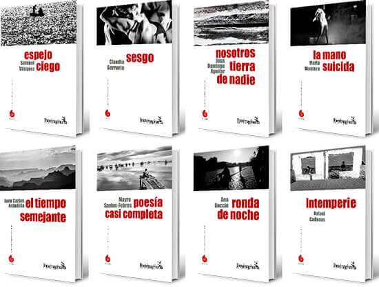 Segundos ocho títulos de la colección de poesía «Alfabeto del mundo»