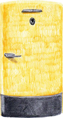 Ilustración de Isabel Gómez Machado para el libro «Cuentos de Sísifo» de Luis Felipe Gómez