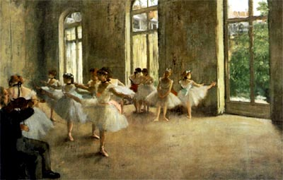 "Edgar Degas - ""El ensayo"""