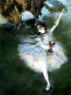 """Edgar Degas - """"La estrella"""""""