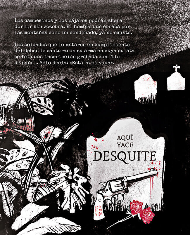 Desquite - Ilustración © Alejandra Vélez