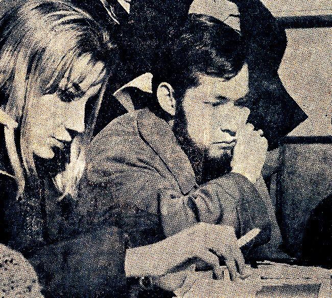 Dina Merlini y Jotamario Arbeláez - Foto © Nereo López (1963)