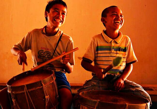 Fotograma de un proyecto audiovisual de Docuandantes