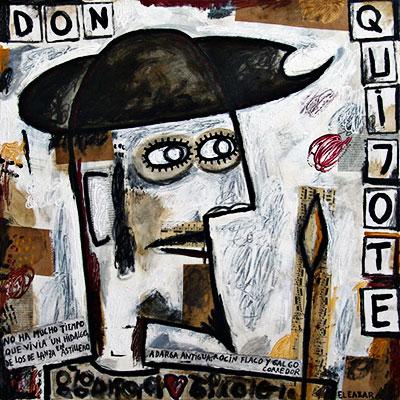 """""""Don Quijote"""" por Eleazar"""