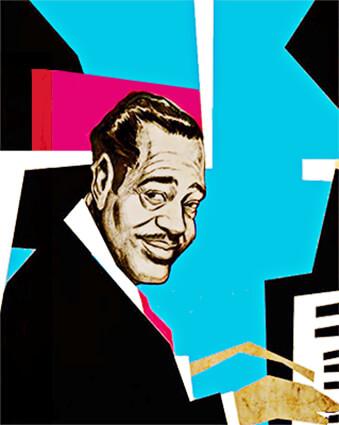 Duke Ellington / Ilustración © Thomas Seltzer