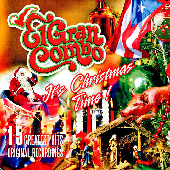 Portada del disco «It's Crhistmas Time!» de El Gran Combo de Puerto Rico