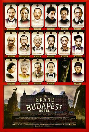 El Gran Hotel Budapest - Wes Anderson