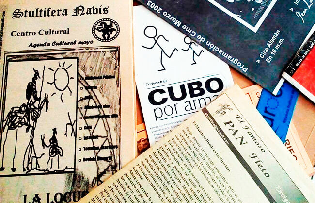 Publicaciones de «El Taller» y del centro cultural Stultifera Navis