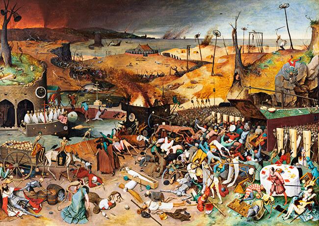 «El triunfo de la muerte» de Pieter Brueghel, el viejo