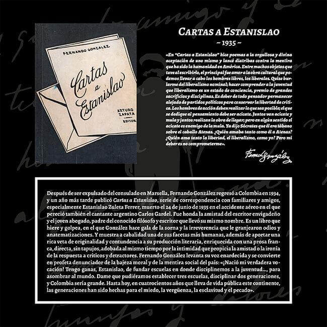 Exposición «El viaje a la Presencia» - Cartas a Estanislao (1935)