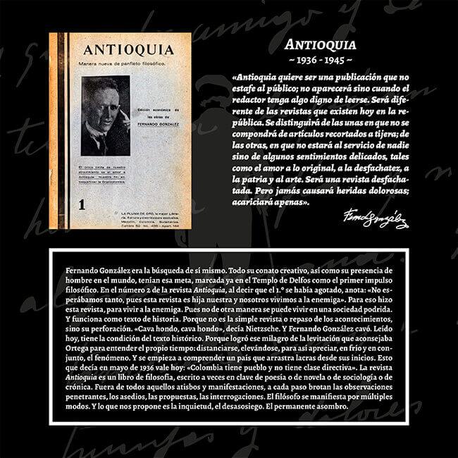 Exposición «El viaje a la Presencia» - Revista Antioquia (1936-1945)