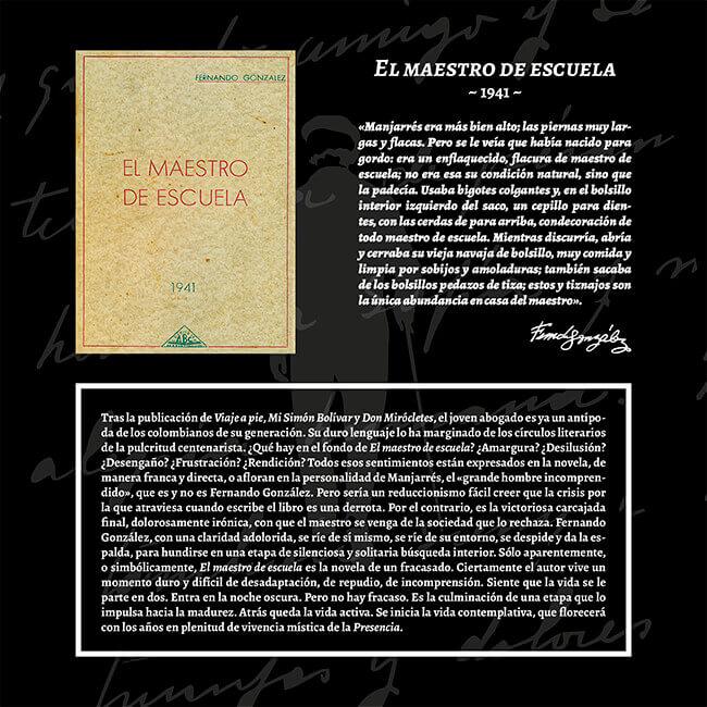 Exposición «El viaje a la Presencia» - El maestro de escuela (1941)