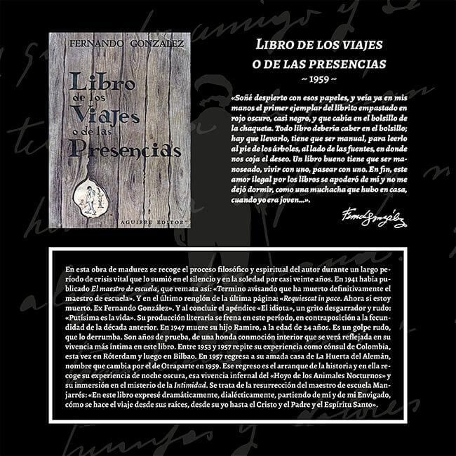 Exposición «El viaje a la Presencia» - Libro de los viajes o de las presencias (1959)
