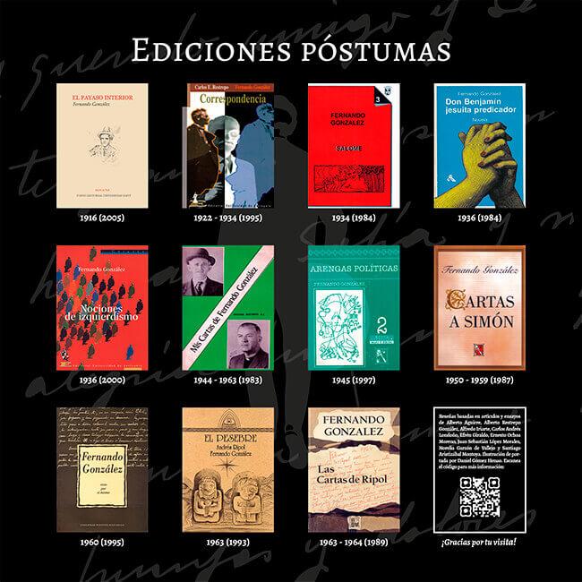Exposición «El viaje a la Presencia» - Ediciones póstumas