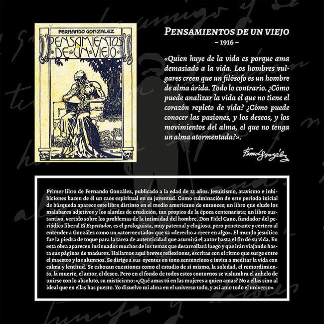 Exposición «El viaje a la Presencia» - Pensamientos de un viejo (1916)