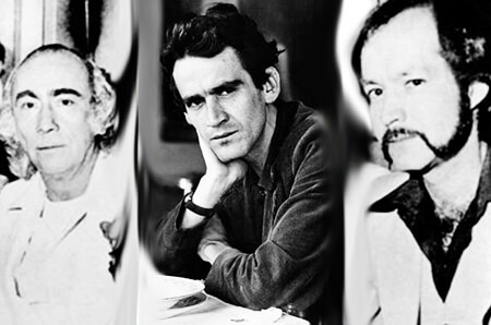 Elmo Valencia, Gonzalo Arango y Jotamario Arbeláez
