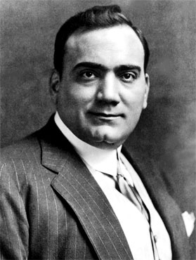 Enrico Caruso (1873 - 1921)