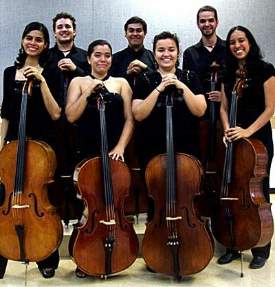 Ensamble de violonchelos de Medellín