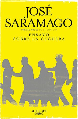 Portada del libro «Ensayo sobre la ceguera» de José Saramago