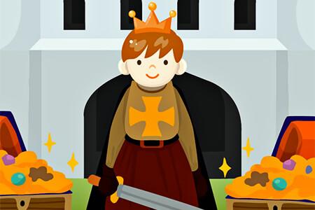 Ilustración para niños del rey Arturo