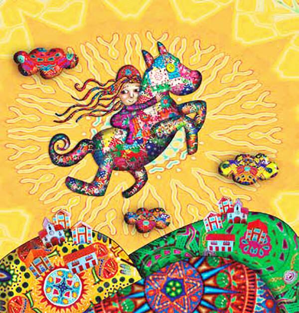 Ilustración del cuento «El caballo» de Jairo Aníbal Niño.