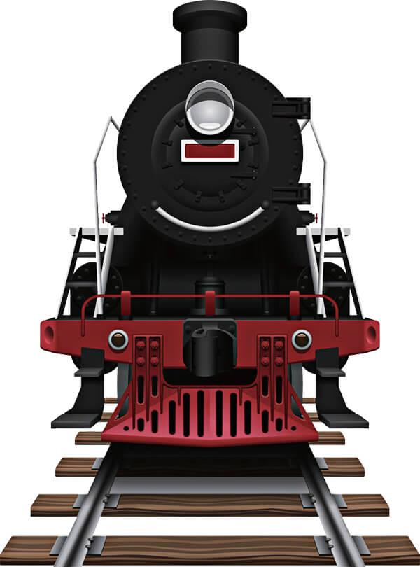 Illustración de un tren