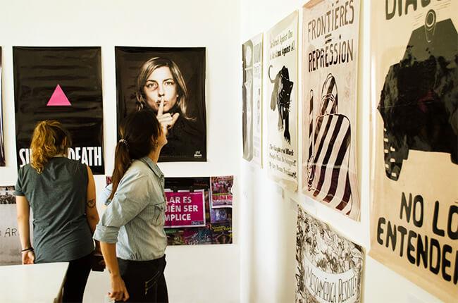 Foto de una de las actividades de la «Escuelita para Vivir a la Enemiga» - Proyecto de El Derecho a No Obedecer de la Corporación Otraparte