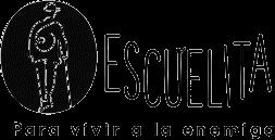 Logo de la «Escuelita para Vivir a la Enemiga» - Proyecto de El Derecho a No Obedecer de la Corporación Otraparte