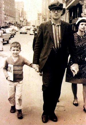 José (hijo), Estanislao Zuleta y su segunda esposa, Yolanda González (c. 1966).