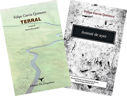 Portadas de dos libros de Felipe García Quintero
