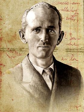 Fernando González Ochoa (1895 - 1964) - Ilustración por Daniel Gómez Henao