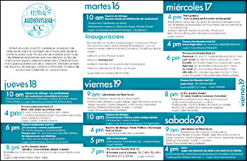 Festival Audiovisual Creative Commons 2011