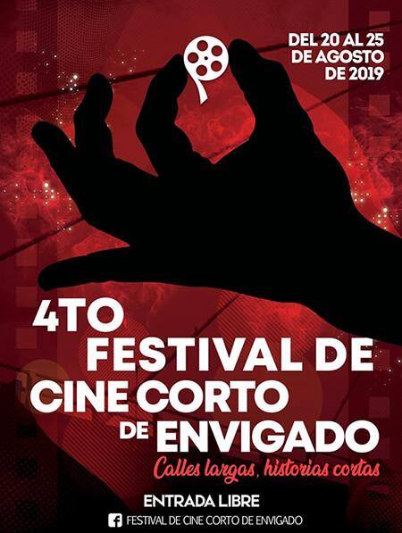 Afiche 4.º Festival de Cine Corto de Envigado