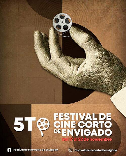 Afiche 5.º Festival de Cine Corto de Envigado