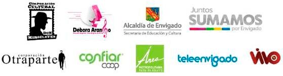 Entidades que apoyan el 5.º Festival de Cine Corto de Envigado
