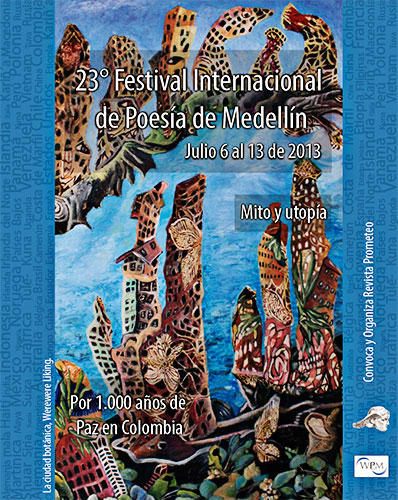 XXIII Festival Internacional de Poesía de Medellín