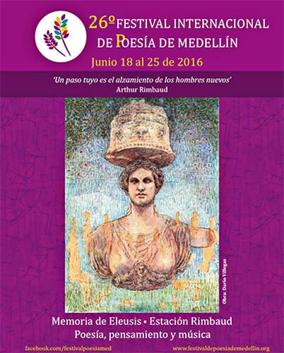 XXVI Festival Internacional de Poesía de Medellín